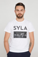 Men's T-Shirt Syla. Unisex T-shirt (men's sizes).