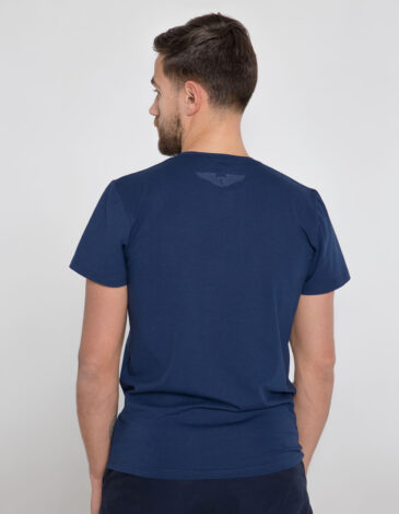 Men's T-Shirt Bee. Color dark blue. Material: 95% cotton, 5% spandex.