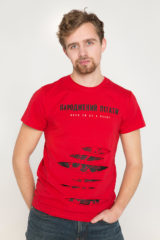 Men's T-Shirt Born To Fly. Unisex T-shirt (men's sizes).