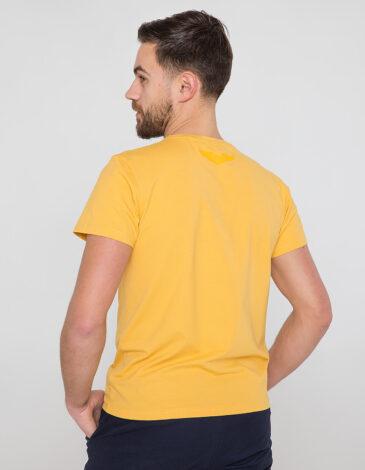 Men's T-Shirt Mriya. Color yellow. Unisex T-shirt (men's sizes).