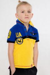 Kids Polo Shirt 7 Brigade (Petro Franko). Pique fabric: 100% cotton.