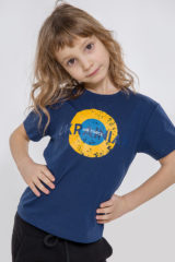 Kids T-Shirt Ukrainian Air Force. Unisex T-shirt.