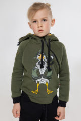 Kids Hoodie Goose. Hoodie: unisex, well suited for both boys and girls.