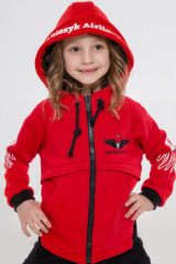 Kids Hoodie Stork. Hoodie: unisex, well suited for both boys and girls.