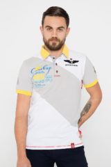 Men's Polo Shirt Synevyr. Pique fabric: 100% cotton.