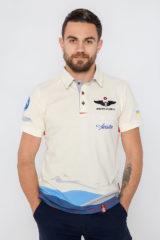 Men's Polo Shirt D'arrigo. Pique fabric: 100% cotton.
