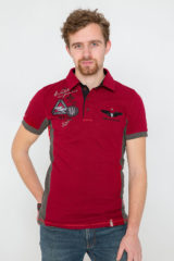 Men's Polo Shirt Flying Cossacks. Pique fabric: 100% cotton.