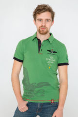 Men's Polo Shirt Ivan Franko. Pique fabric: 100% cotton.