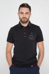 Men's Polo Shirt Wings. Unisex polo (men's sizes).