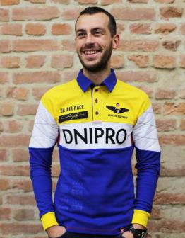 Men's Polo Long Air Race Dnipro. Цей продукт наявний В ОСТАННІХ ЕКЗЕПЛЯРАХ і більше ВИГОТОВЛЯТИСЬ НЕ БУДЕ.