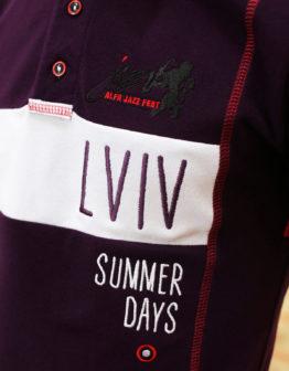 Men's Polo Shirt Lviv Summer Days.  Тканина піке: 100% бавовна.