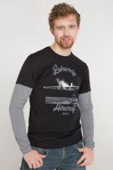 Men's Long Sleeves Legend Yak-52. Матеріал: 95% бавовна, 5% спандекс.