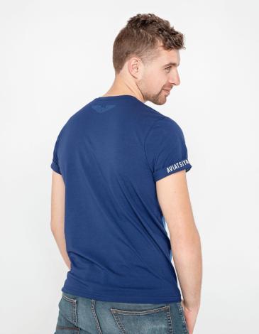 Men's T-Shirt An-2. Color sky blue. Unisex T-shirt (men's sizes).