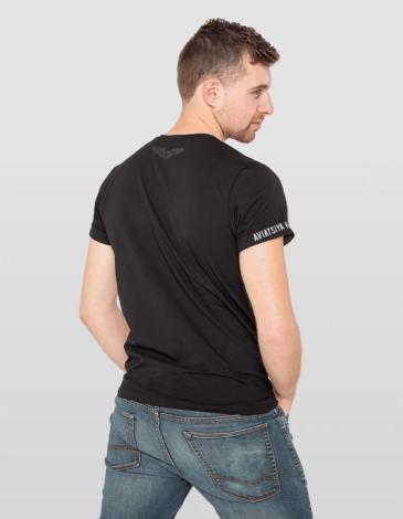 Men's T-Shirt An-4. Color gray. Unisex T-shirt (men's sizes).
