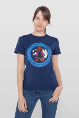 Women's T-Shirt Kosmolit Kosiv. Material: 95% cotton, 5% spandex.