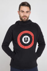 Men's Hoodie Roundel. Size worn by the model: М.