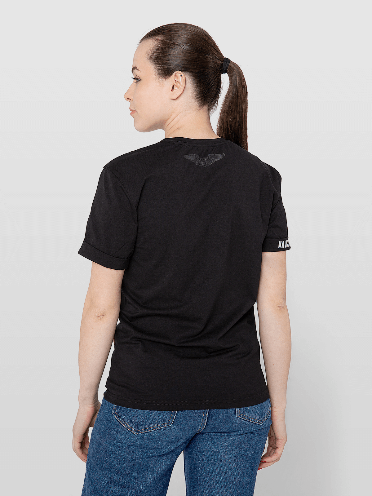 Women's T-Shirt Mriya 1989. Color black.  Don't worry about the universal size.