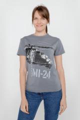 Жіноча Футболка Мі-24. Футболка унісекс (розміри чоловічі).