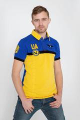 Men's Polo Shirt 7 Brigade (Petro Franko). Pique fabric: 100% cotton.