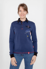 Women's Polo Long Sikorsky. Unisex polo long (men's sizes).