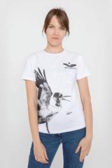 Women's T-Shirt Stork. Unisex T-shirt (men's sizes).