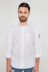 Men's Shirt Molfar-X. Pique fabric: 100% cotton.