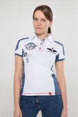 Women's Polo Shirt 10 Brigade. Pique fabric: 100% cotton.