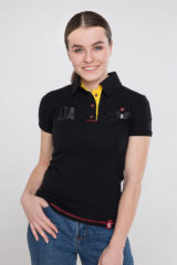 Women's Polo Shirt Seraphim. Pique fabric: 100% cotton.
