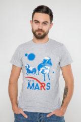 Чоловіча Футболка Wjo Na Mars. Футболка унісекс (розміри чоловічі).