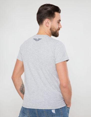 Men's T-Shirt Wjo Na Mars. Color gray. Material: 95% cotton, 5% spandex.