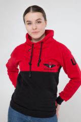 Women's Sweatshir 12 Brigade. Material: 77% cotton, 23% polyester.
