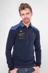Men's Polo Long 100 Years Of Ua. Pique fabric: 100% cotton.