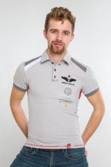 Men's Polo Shirt Indian. Pique fabric: 100% cotton.