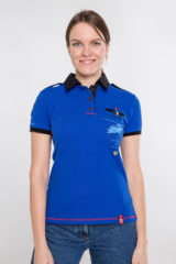 Women's Polo Shirt Sikorsky. Pique fabric: 100% cotton.