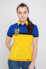 Women's Polo Shirt 7 Brigade (Petro Franko). Pique fabric: 100% cotton.
