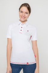 Women's Polo Shirt Wings. Unisex polo (men's sizes).