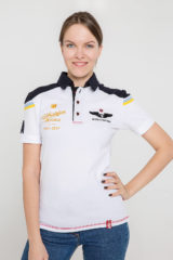 Women's Polo Shirt 100 Years Ua Aviation. Unisex polo (men's sizes).