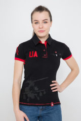 Women's Polo Shirt 12 Brigade (The Dragon Slayer). Pique fabric: 100% cotton.