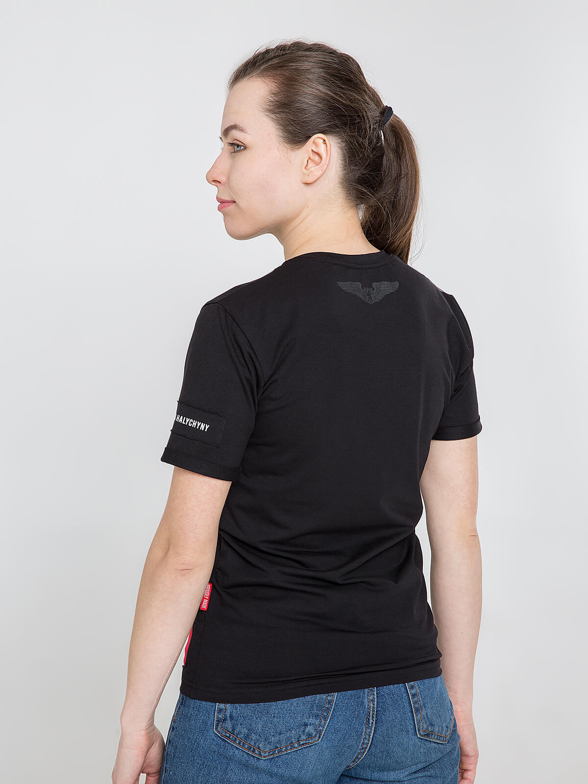 Women's T-Shirt Sikorsky. Color black.  Don't worry about the universal size.