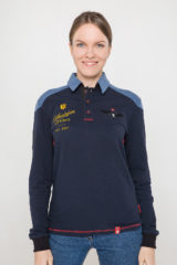 Women's Polo Long 100 Years Of Ua. Unisex polo (men's sizes).