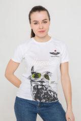 Women's T-Shirt Owl. Unisex T-shirt (men's sizes).