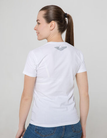 Women's T-Shirt Franz Joseph. Color white. Unisex T-shirt (men's sizes).
