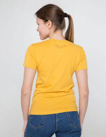 Women's T-Shirt Mriya. Color yellow. Unisex T-shirt (men's sizes).