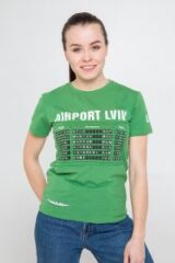 Women's T-Shirt Airport Lviv. Футболка унісекс (розміри чоловічі).