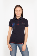 Women's Polo Shirt 12 Brigade (Kalyniv). Pique fabric: 100% cotton.