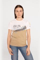 Жіноча Футболка Ан-26. Футболкаунісекс(розміри чоловічі).