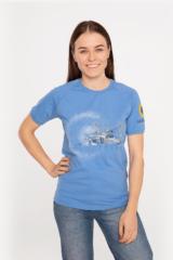 Women's T-Shirt Su-24. Material: 95% cotton, 5% spandex.