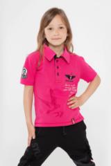 Kids Polo Shirt Lesia Ukrainka. Тканина піке: 100% бавовна.