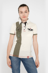 Women's Polo Shirt 16 Brigade. Pique fabric: 100% cotton.