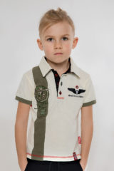 Kids Polo Shirt 16 Brigade. Pique fabric: 100% cotton.